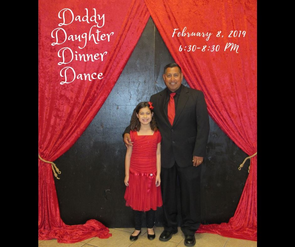 Daddy Daughter Dinner Dance Facebook advertisement