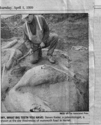 Mammoth Unearthed, OC Register 2