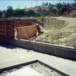 Construction of Water Wall 2