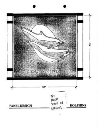 Playground Panels-Dolphins