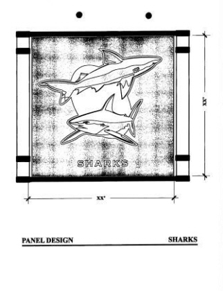 Playground Panels-Sharks